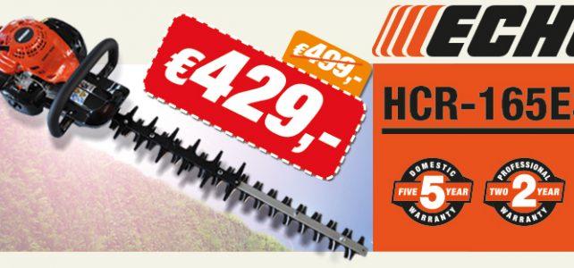 Topheggenschaar aan een scherpe promoprijs! HCR-165ES voor 429 €!